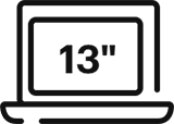 icône de description Housse 13pouces