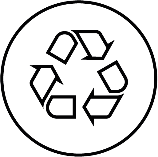 Recycled fabric feature icon