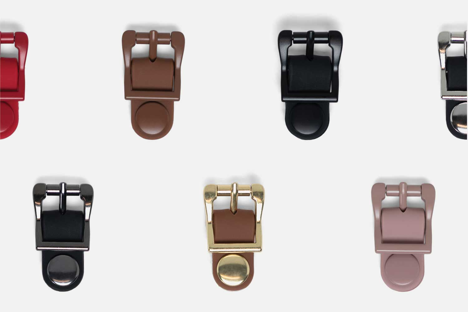 Finishing touches - Customize every strap and buckle