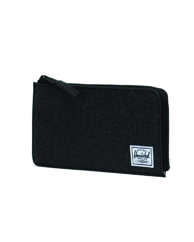 Image of a Black Herschel Jack Large Wallet