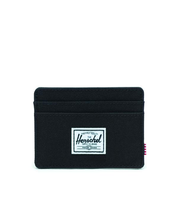 Image of a Black Herschel Charlie Wallet