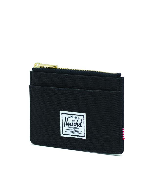 Image of a Black Herschel Oscar Wallet