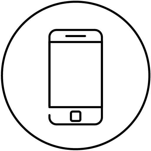 Mobile phone slot icon