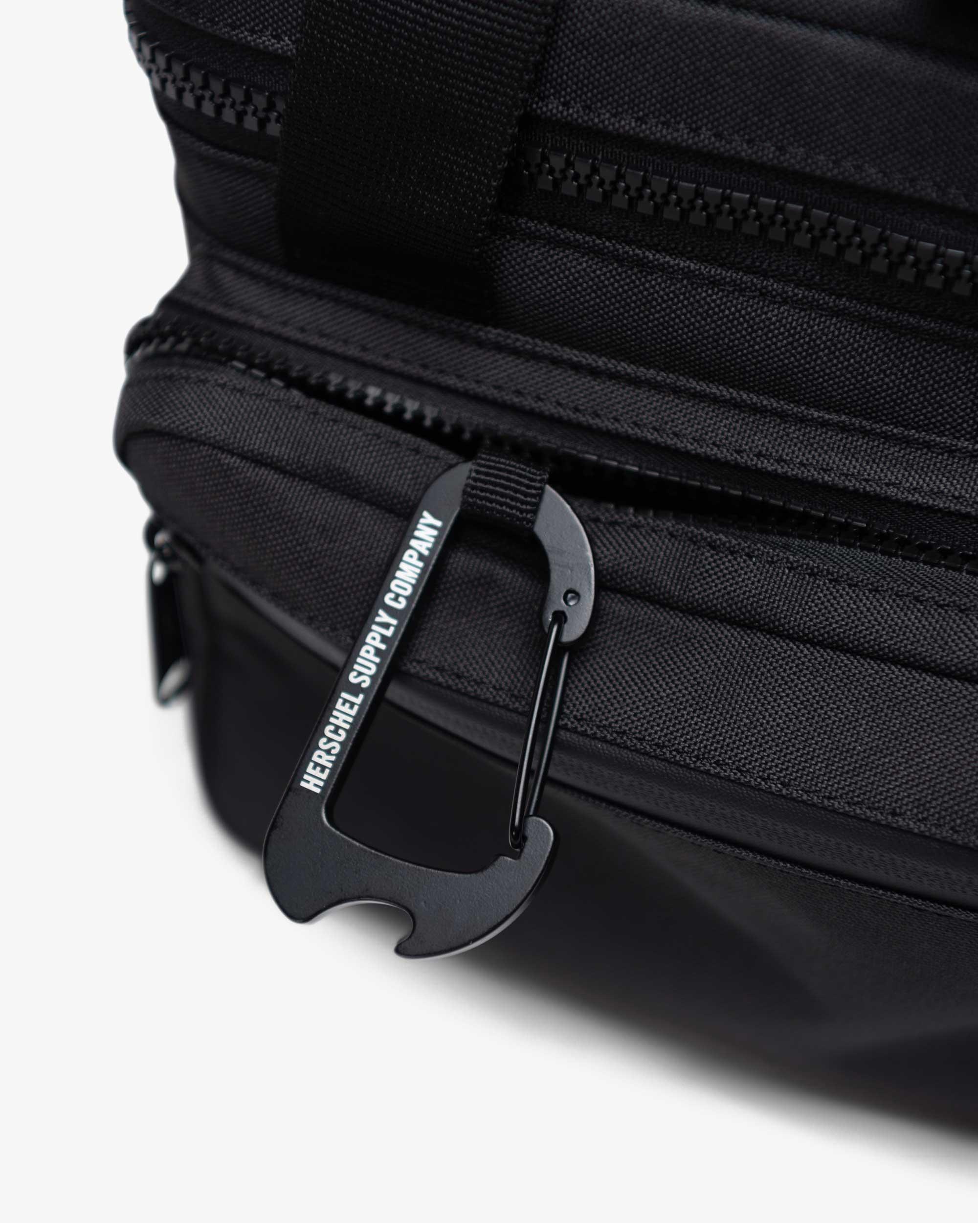 Front pocket with waterproof zipper
