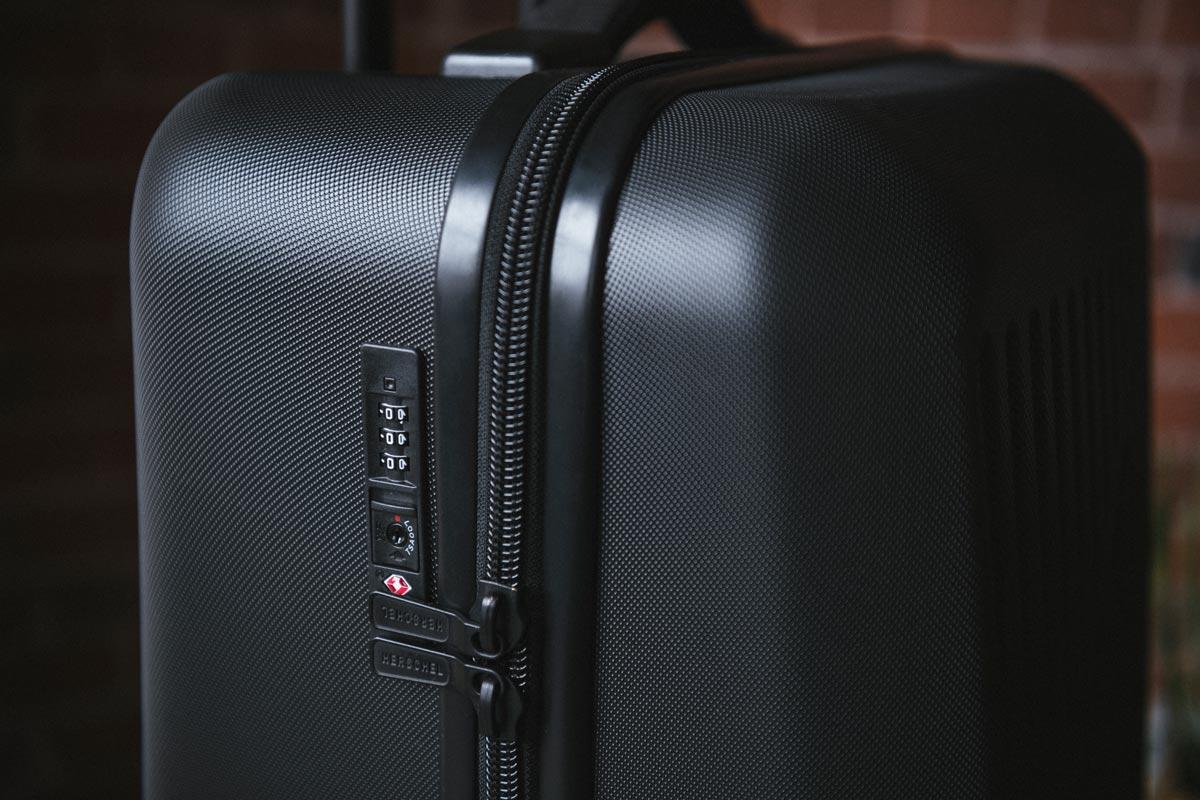 Fermeture éclair avec verrou encastré à combinaison TSA approuvée par Travel Sentry®