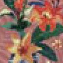 Summer Floral Ash Rose